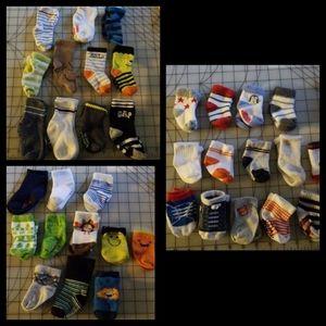 36x 0-24 month baby toddler socks